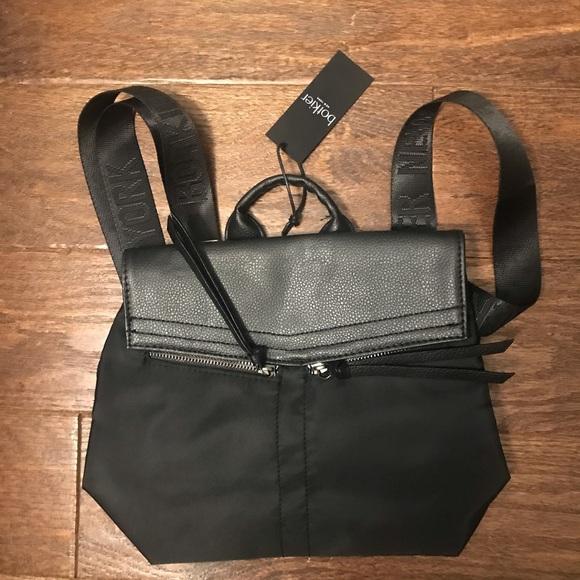 New Botkier New York Mini Trigger Backpack Black